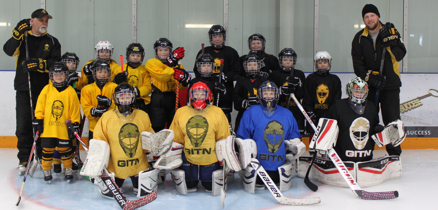 Gold In The Net Ontario Real Ice Training Facility